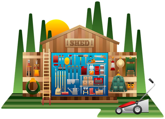 Shed graphic